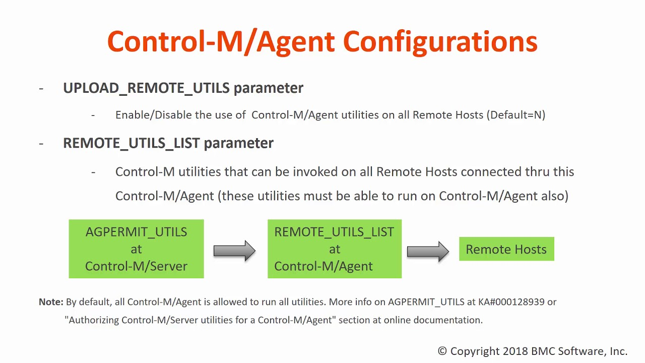 How to restrict the use of Control-M/Agent util      BMC Communities