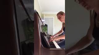 Rehearsing 'The Love' from Nigel Hess' Concerto - piano solo