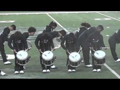 Hightower High School Drum line Peach Bowl Performance Short clip