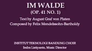 ITB Choir sings Im Walde