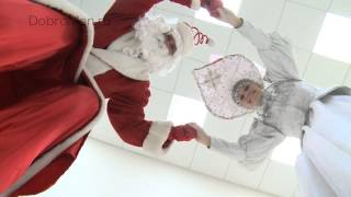 Вызов и заказ Деда Мороза - Дед Мороз на ходулях(, 2012-11-17T17:38:21.000Z)