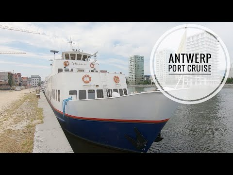 Port of Antwerp cruise on Flandria vessel MV Flandria 24