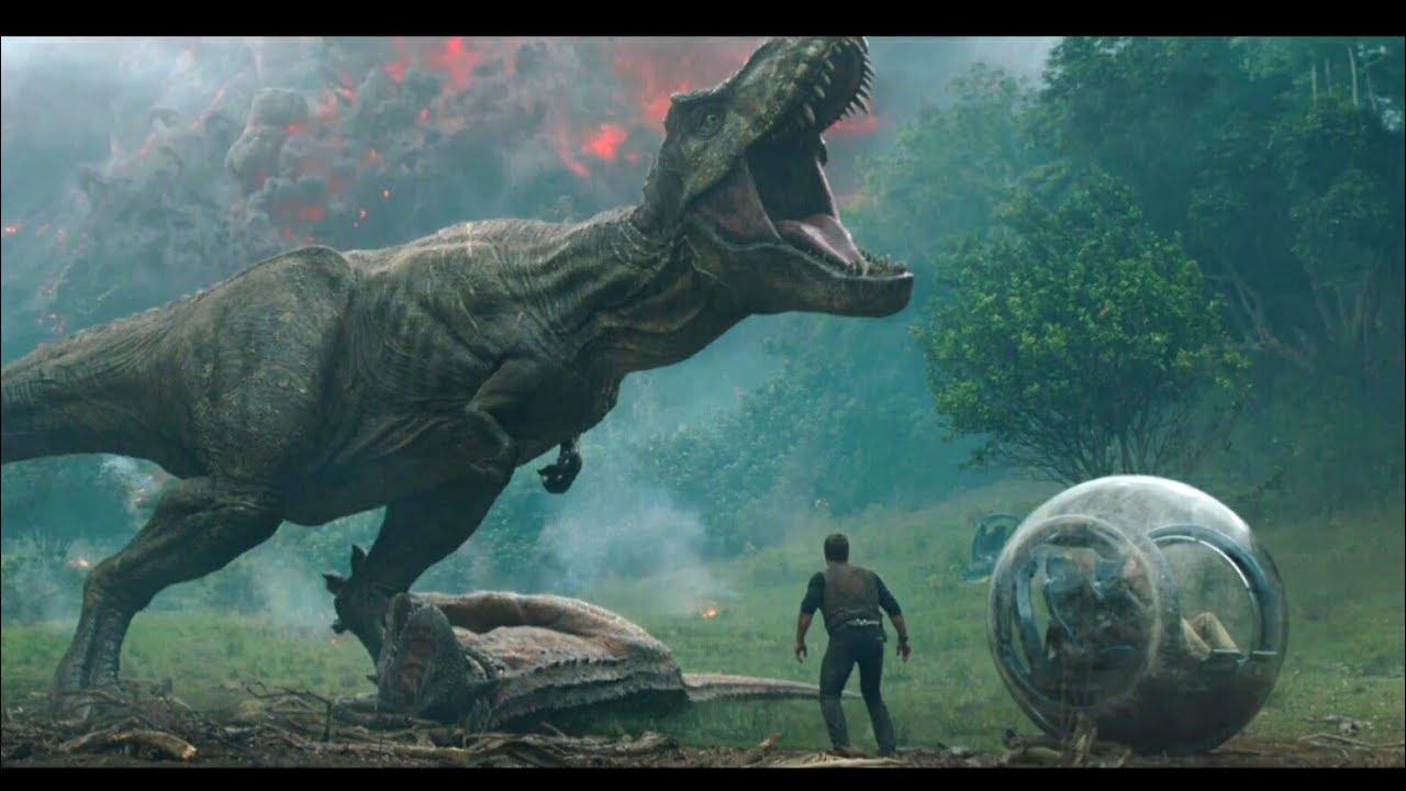 侏羅紀世界 2:隕落國度   HD中文首版電影預告 (Jurassic World : Fallen Kingdom) - YouTube