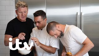Burger Off: Gordon Ramsay vs Gino D'Acampo & Fred Sirieix 🍔| Gordon, Gino & Fred: American Road Trip