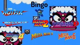 GDQ Hotfix presents Classic Megaman Bingo