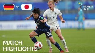 Video Germany v Japan - FIFA U-20 Women's World Cup France 2018 - Match 28 download MP3, 3GP, MP4, WEBM, AVI, FLV Agustus 2018