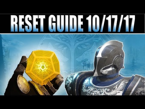 Destiny 2 - Weekly Reset Guide  Prestige Raid, Nightfalls & Challenges for 10/17/17