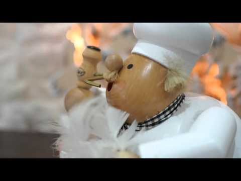 How a traditional Christmas Incense Smoker Works