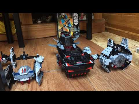 My Lego Star Wars Imperial fleet