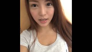 Model ViVi Tam Korean 3 minutes Eyeliner 4th Day