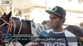 فيديو| نزلة السمان.. خيول شابت وسياحة ماتت