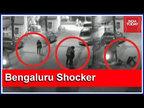Shocking : Woman Groped And Molested In Bengaluru Caught On CCTV Camera