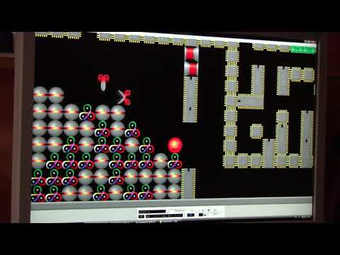 SUPAPLEX   LEVEL   14 - FALL OUT!