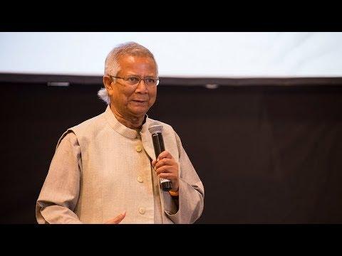 The 3 keys to eradicating poverty | Professor Muhammad Yunus