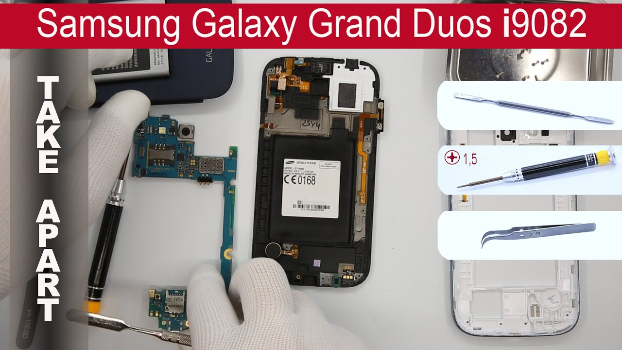 How to disassemble Samsung Galaxy Ace 2 I816 , Take
