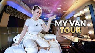 Download MY VAN TOUR! *WHAT'S INSIDE MY VAN*   IVANA ALAWI