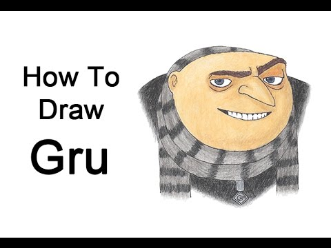 How to draw gru from despicable me youtube how to draw gru from despicable me altavistaventures Images