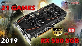 21 Games On Amd Radeon Rx 580 8gb 1080p Ultra Settings Youtube