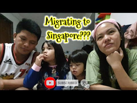 FAM VLOG: #18 How to Migrate to Singapore plus bonding with kids! Part 1 #howto