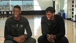 Brooklyn Nets Duo, Hollis-Jefferson & LeVert talk hoops & friendship
