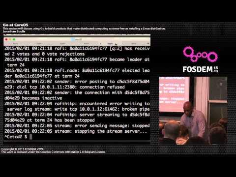 Go at CoreOS - Kelsey Hightower - Go Devroom FOSDEM 2015