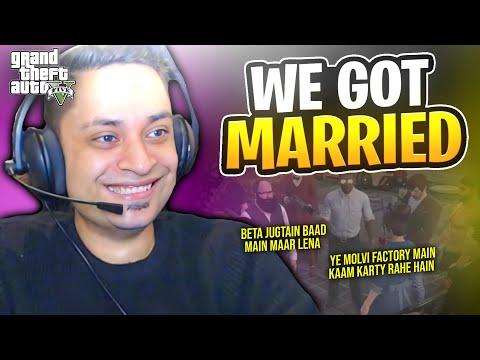 I GOT MARRIED WITH AYESHA - GTA 5 Gameplay Pakistan & India