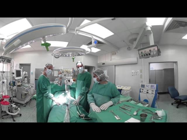 SimulTech Clalit - Surgery movie No' 5 [360º Movie]