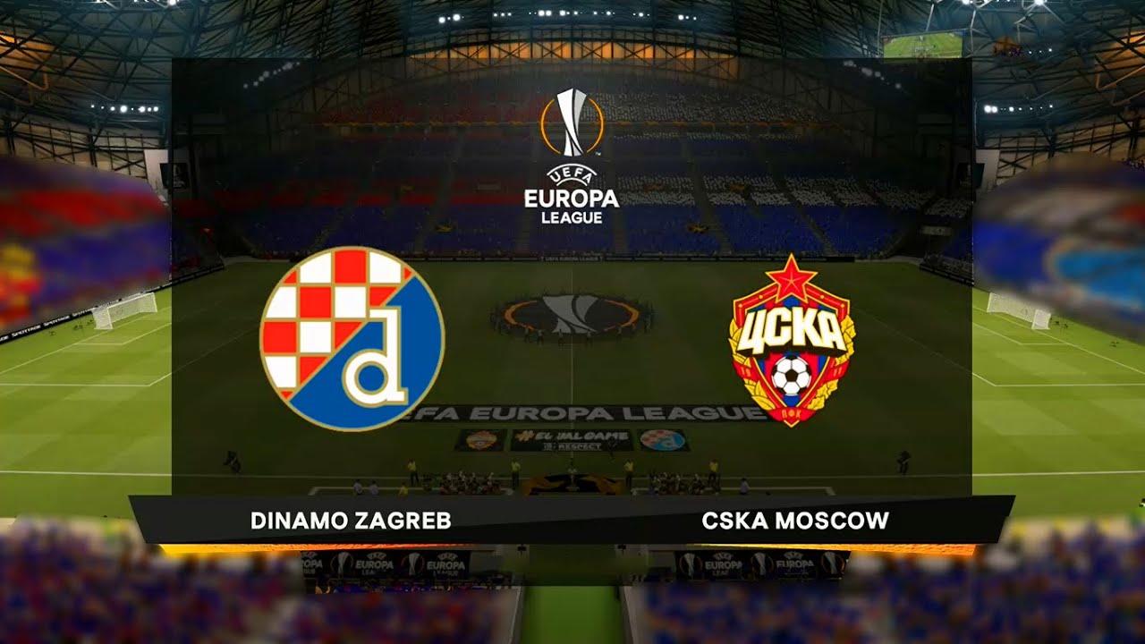 Dinamo Zagreb Vs Cska Moscow Uefa Europa League 10 12 2020 Fifa 21 Youtube