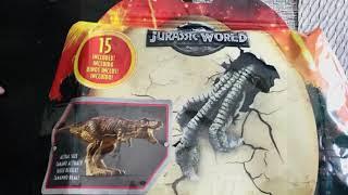 Matt's playtime.  Toysreview Jurassic World Fallen Kingdom variety pack.