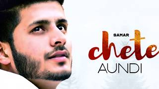 Chete Aundi (Motion Poster) | Samar | Aarvi | Rel. on 26 sept. | White Hill Music