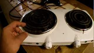 Canadian Tire Salton Double Burner 29 Failure Youtube