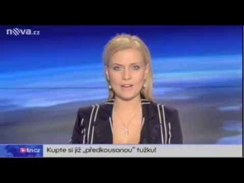Czech News report about Pre-Chewed Pencils