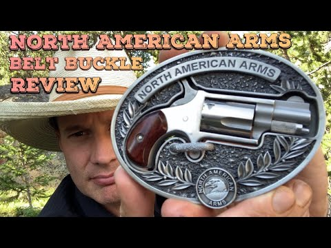 North American Arms Belt Buckle Review.