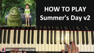 Baixar HOW TO PLAY - jinsang - Summer's Day v2 [Spirited Away Remix] (Piano Tutorial Lesson)