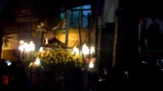 San Ildefonso De Toledo Parish Tanay, Rizal Holy Wednesday Procession 2013
