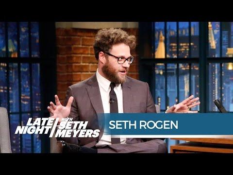 Seth Rogen's Amazing Kanye West Encounter - Late Night with Seth Meyers