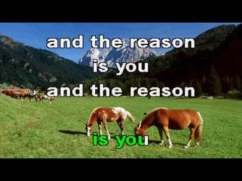 Karaoke Hoobastank - The Reason