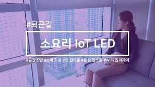 [소요리 IoT LED] 조명 하나로 만들어지는 '스마…