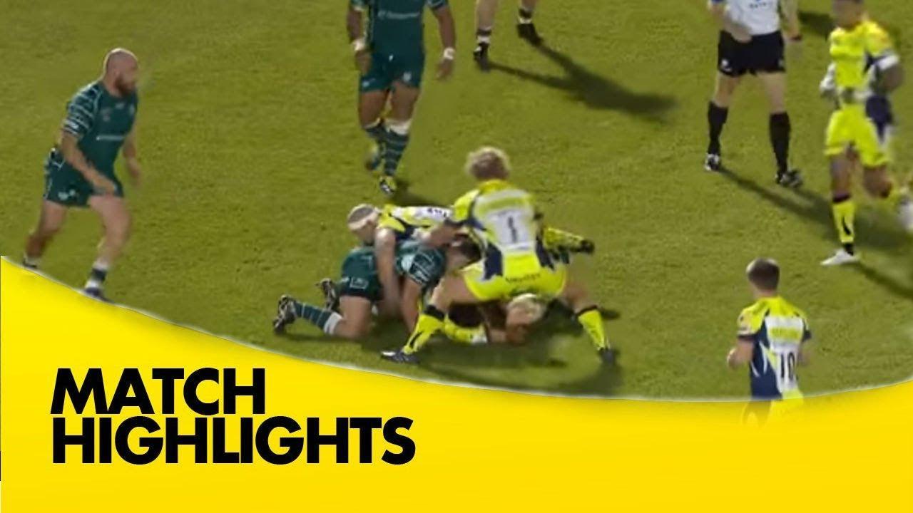 7c4e67232ae Sale Sharks v London Irish - Aviva Premiership Rugby 2017-18 - YouTube