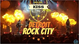 KISS Opening With Detroit Rock City - End Of The Road - 8th Row - Center Stage - High Definition Cam