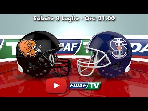ITALIAN BOWL XXXVII: Rhinos Milano vs Seamen Milano