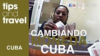 Casa de cambio🏦 Aeropuerto✈️ de LA HABANA, CUBA!!