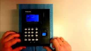 Калибровка сканера Anviz C2