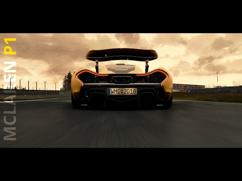 Project Cars 2 : McLaren P1 Highway Drive in Virtual Reality |
