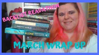 March Wrap Up- Backlist Readathon