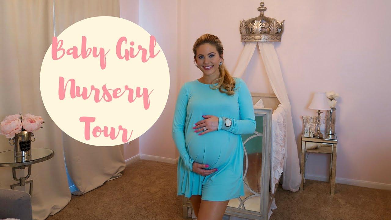 BABY GIRL NURSERY TOUR! | Princess Nursery | Posh Nursery ...