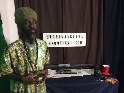 "Virgin Islands Reggae Artist Ras Batch & His New CD ""Rootz and Kulcha"""