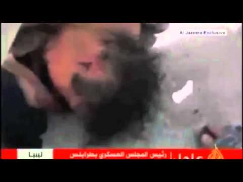 LIBYA'S GADHAFI DEATH, EXCLUSIVE VIDEO LIVE