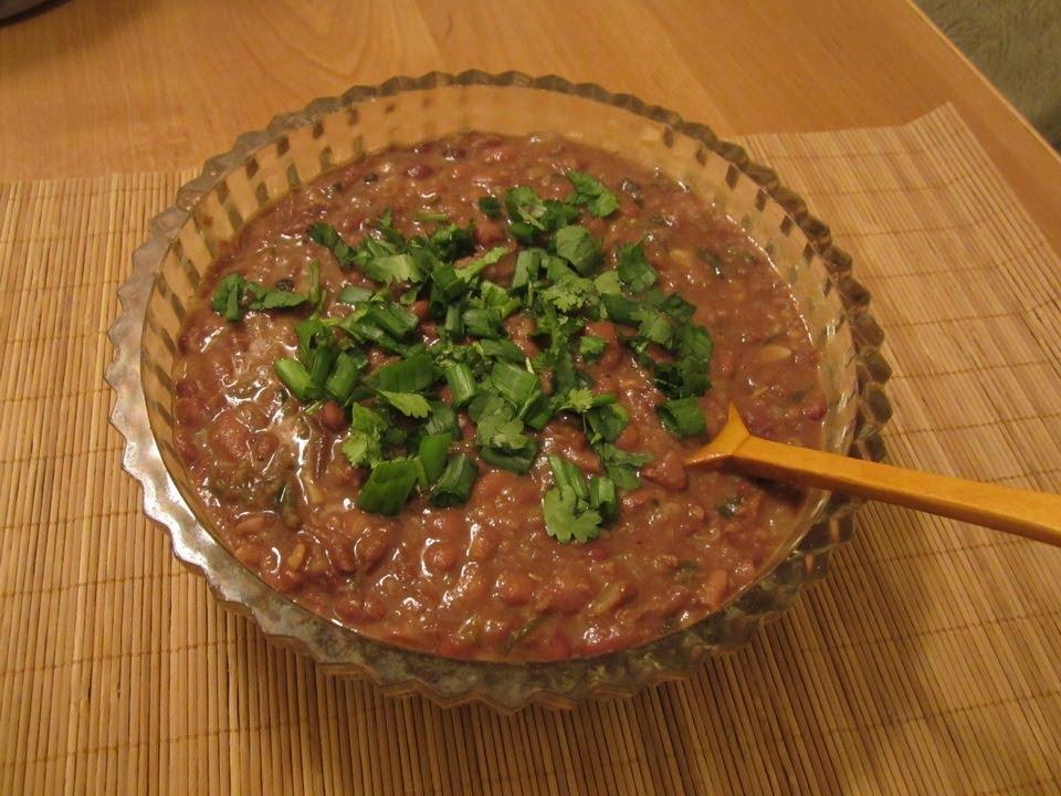 Национальное абхазское блюдо из фасоли