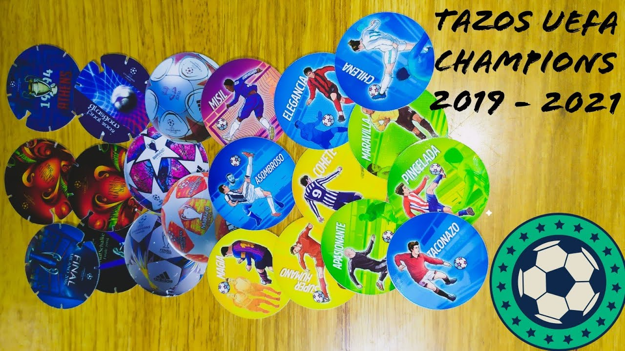 tazos papas Margarita UEFA champions league 2019 - 2021 ...